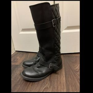 Stevies Black Knee-High Boots Size 6